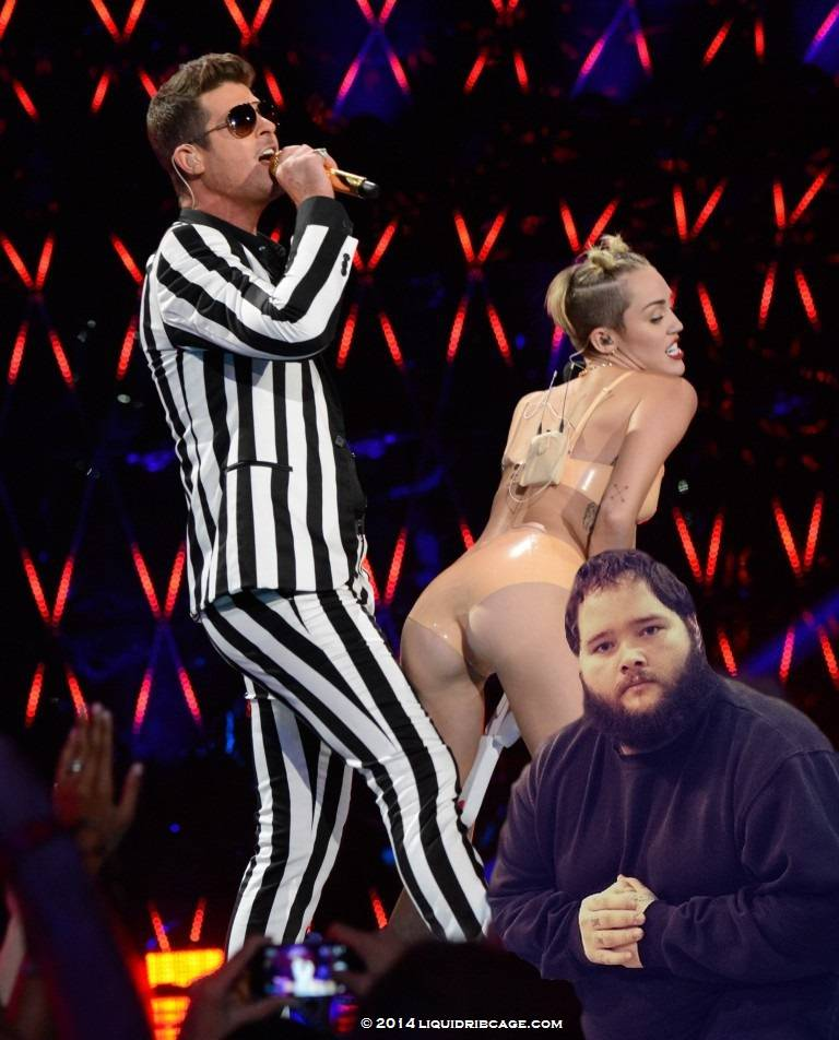 Miley Cyrus Buttcrack