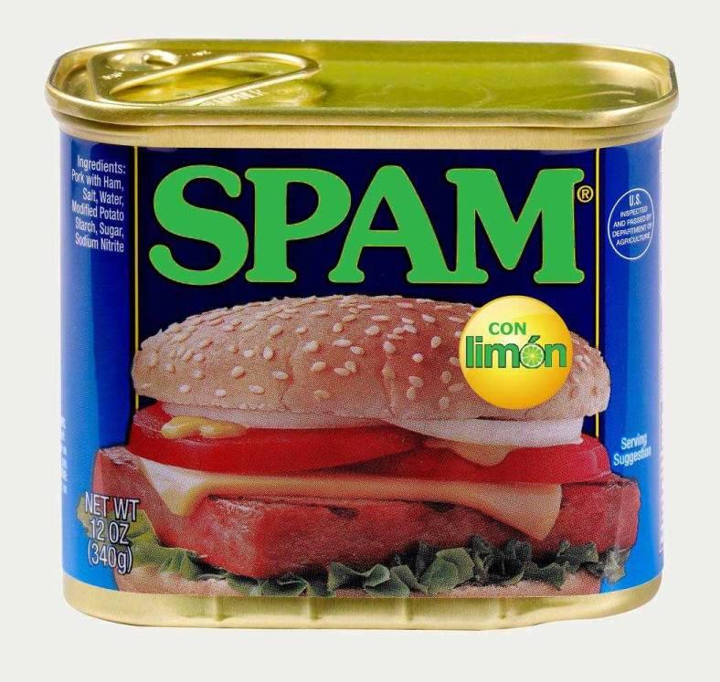 Spam Con Limon