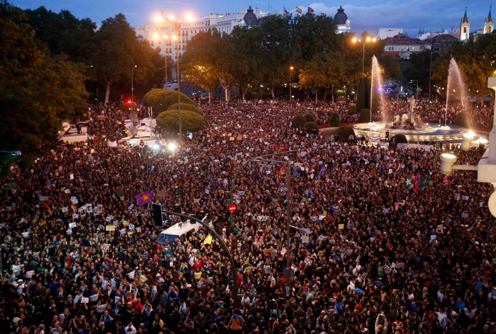 Waldo Madrid Protest